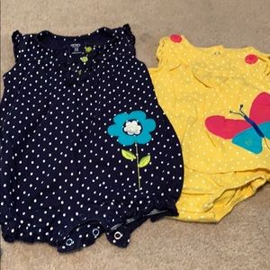 🌈4/$25🌈 Carter's Romper & Dress